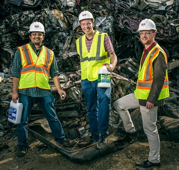 Científicos fabrican batería a base de materiales reciclados