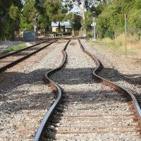 Efecto de la dilatación térmica en vías de tren. Pandeo.