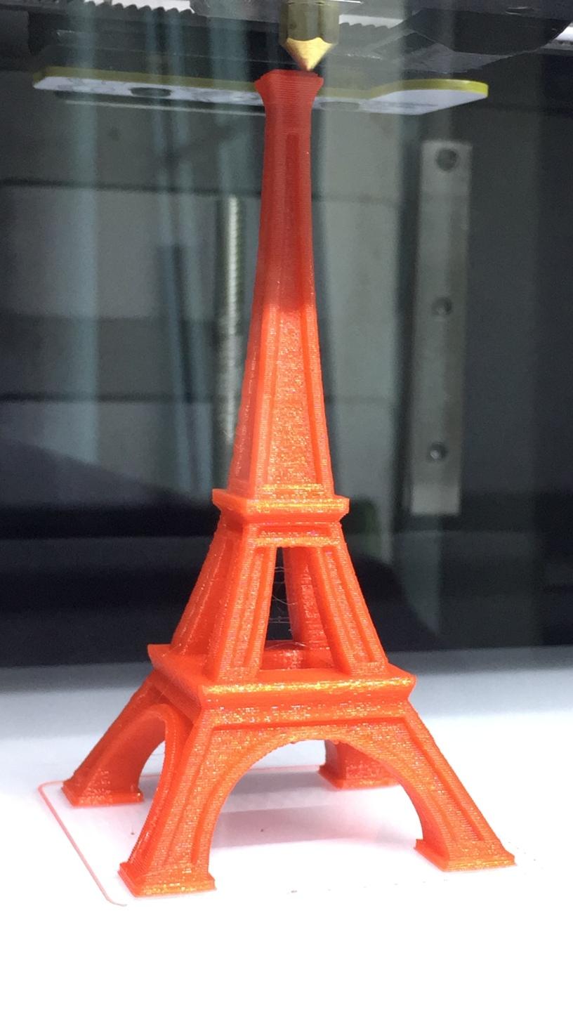 Torre Eiffel por impresión 3D