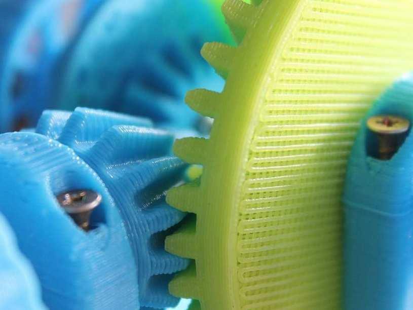 Impresión 3D a color
