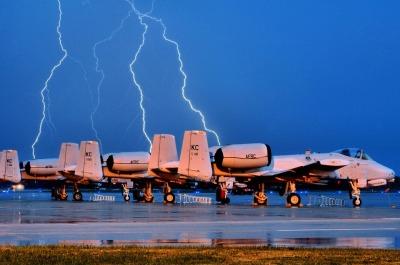 Aviones y Rayos
